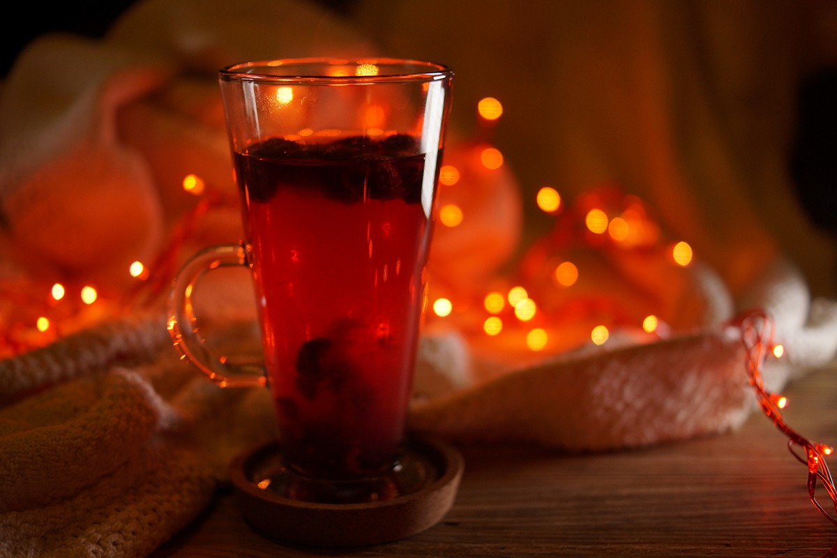 drink Homemade raspberry tea with chacha in Georgia - by Sterling Property Advisors