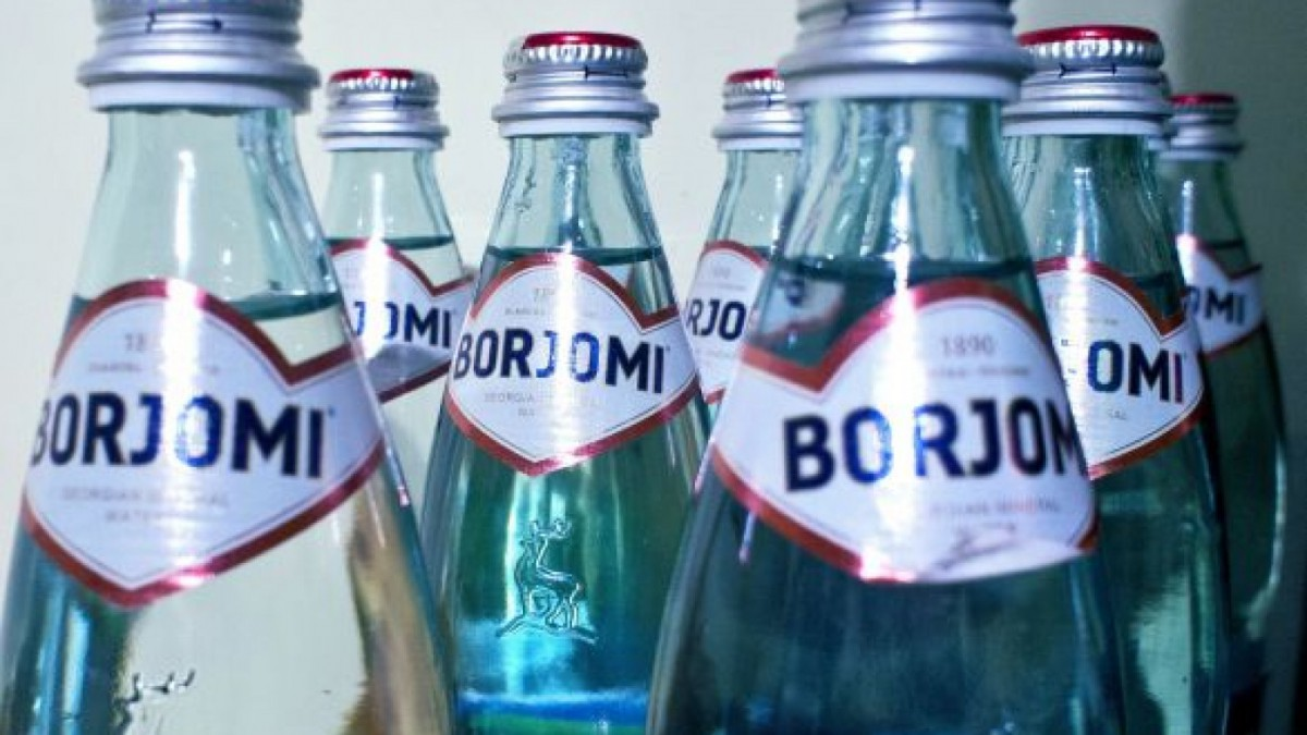 drink Borjomi Mineral Water in Georgia - by Sterling Property Advisors
