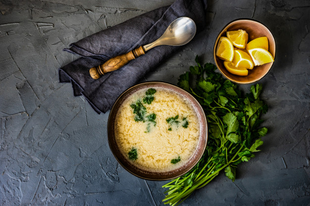 Chikhirtma-chicken-soup-with-egg and-lemon
